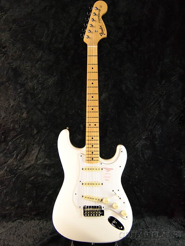 Fender Made In Japan Hybrid 68s Stratocaster Arctic White 新品 《レビューを書いて特典プレゼント!!》[フェンダージャパン][ハイブリッド][アークティックホワイト,白][ストラトキャスター][Electric Guitar,エレキギター]
