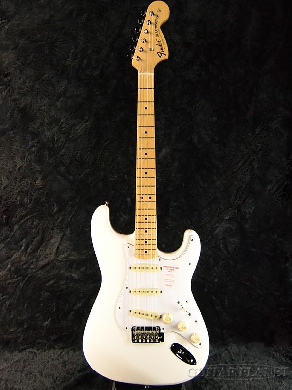 Fender Made In Japan Hybrid 68s Stratocaster Arctic White 新品 《レビューを書いて特典プレゼント!!》[フェンダージャパン][ハイブリッド][アークティックホワイト,白][ストラトキャスター][Electric Guitar,エレキギター]