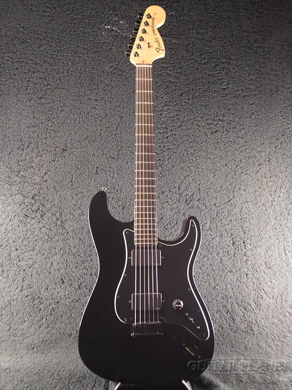 【中古】Fender USA Jim Root Stratocaster -Black / Ebony- 2010年製【レア】[フェンダーUSA][ジム・ルート,スリップノット][Ebony,エボニー,ブラック,黒][ストラトキャスター,ST][Electric Guitar,エレキギター]【used_エレキギター】