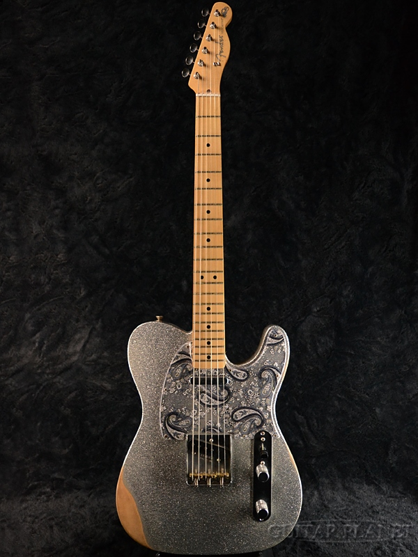 Fender Mexico Brad Paisley Road Worn Telecaster New Article Silver TL