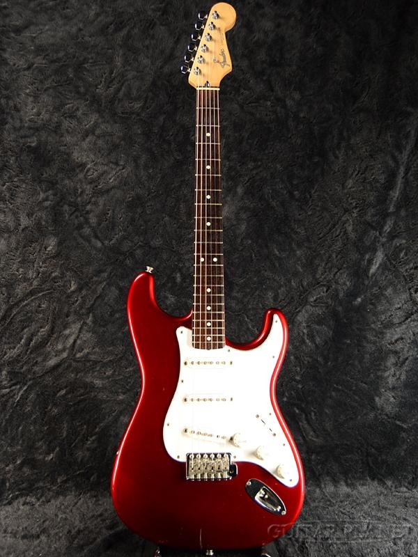 【中古】Fender Japan ST-50 (ST-STD) -Candy Apple Red / Rosewood- 2006-2008年製[フェンダージャパン][キャンディアップルレッド,赤][Stratocaster,ストラトキャスター][Electric Guitar,エレキギター][ST50]【used_エレキギター】