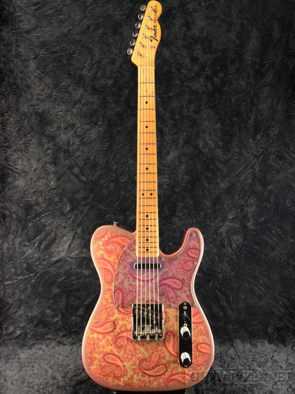 【中古】Fender USA 1968 Pink Paisley Telecaster -Paisley Red- Vintage!! 1968年製[フェンダーUSA][Telecaster,TL,テレキャスタータイプ][ペイズリーレッド,ピンクペイズリー][Electric Guitar,エレキギター]【used_エレキギター】