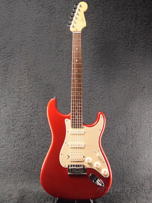 【中古】Fender USA American Deluxe Fat Stratocaster -Chrome Red / Rosewood- 2003年製[フェンダー][アメリカンデラックス,アメデラ][クロームレッド,赤][ストラトキャスター][Electric Guitar,エレキギター]【used_エレキギター】