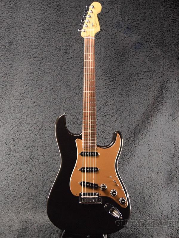 【中古】Fender USA American Deluxe Stratocaster -Montego Black- 2004年製[フェンダー][アメリカンデラックス,アメデラ][モンテゴブラック,黒][ストラトキャスター][Electric Guitar]【used_エレキギター】