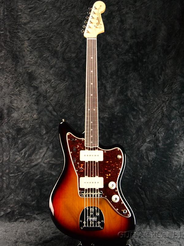 Fender USA American Original '60s Jazzmaster 3-Color Sunburst 新品[フェンダー][アメリカンオリジナル][サンバースト][ジャズマスター][Electric Guitar,エレキギター]