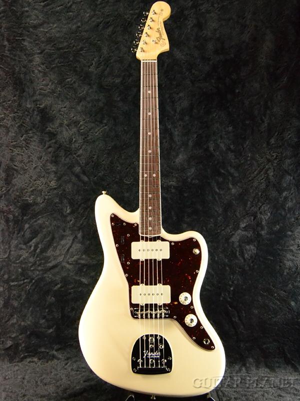 Fender USA American Original'60s Jazzmaster -Olympic White- 新品[フェンダー][アメリカンオリジナル][オリンピックホワイト,白][ジャズマスター][Electric Guitar,エレキギター]
