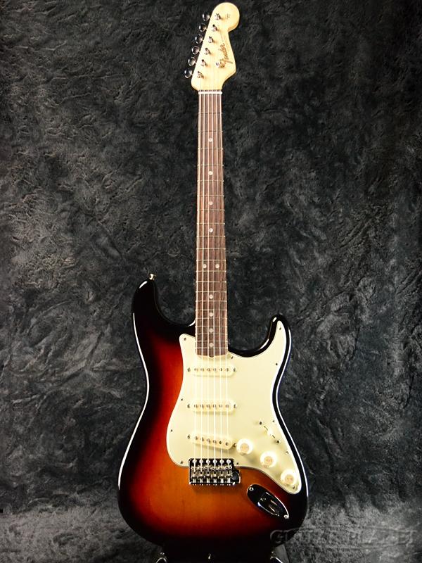 Fender USA American Original 60s Stratocaster -3-Color Sunburst- 新品[フェンダー][アメリカンオリジナル][サンバースト][ストラトキャスター][Electric Guitar,エレキギター]