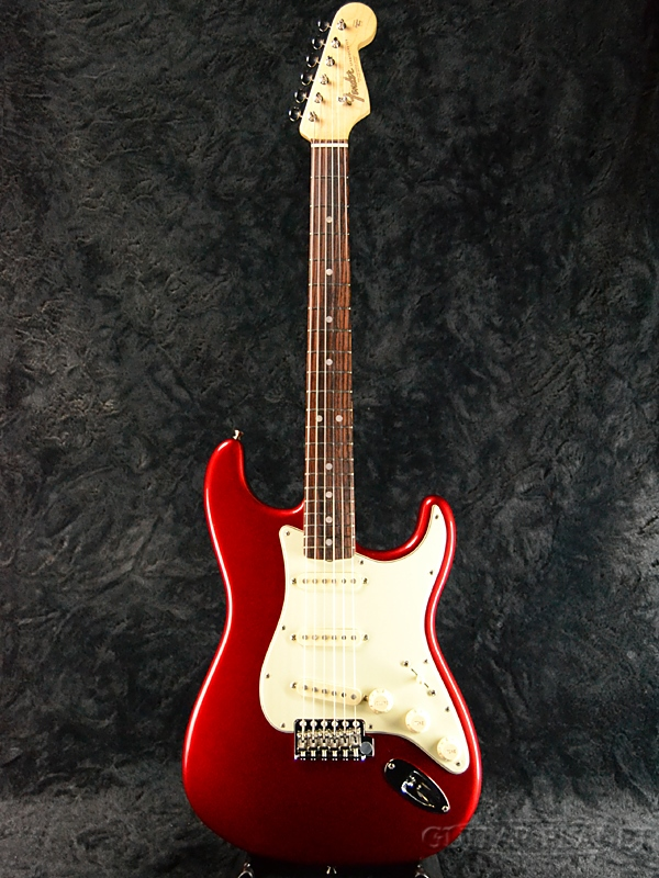 Fender USA American Original 60s Stratocaster -Candy Apple Red- 新品[フェンダー][アメリカンオリジナル][キャンディアップルレッド,赤][ストラトキャスター][Electric Guitar,エレキギター]