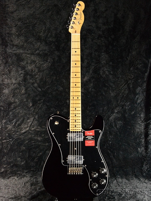 Fender USA American Professional Telecaster Deluxe -Black/ Maple- 新品[フェンダー][アメリカンプロフェッショナル][ブラック,黒][テレキャスターデラックス][Electric Guitar,エレキギター]