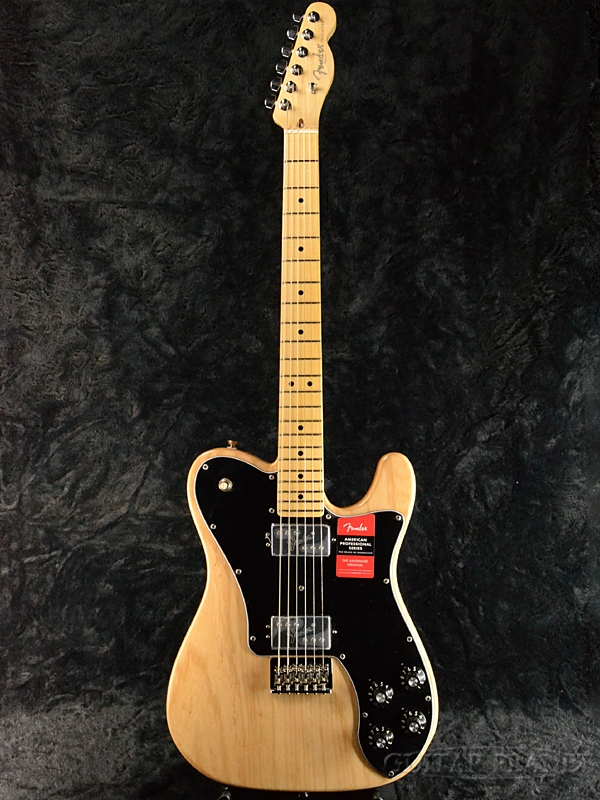 Fender USA American Professional Telecaster Deluxe -Natural/ Maple- 新品[フェンダー][アメリカンプロフェッショナル][ナチュラル][テレキャスターデラックス][Electric Guitar,エレキギター]