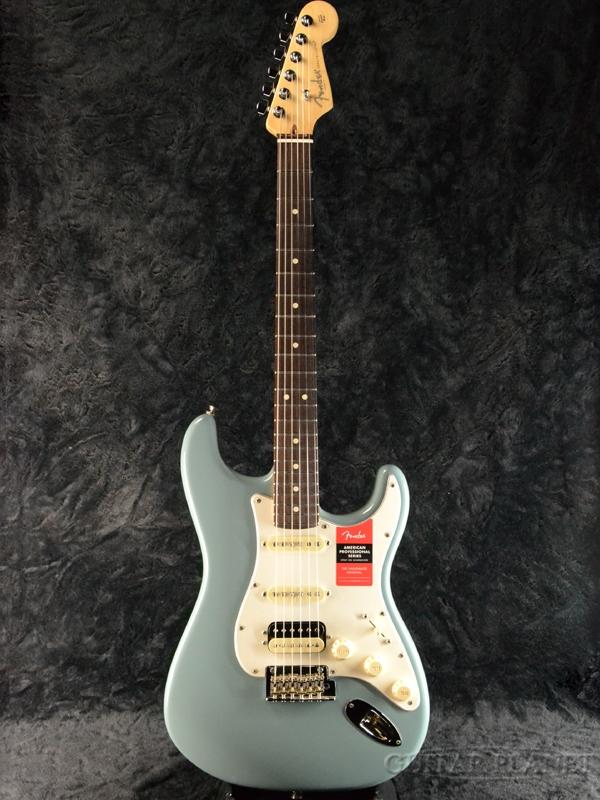 Fender USA American Professional Stratocaster HSS Shawbucker - Sonic Gray/ Rose- 新品[フェンダー][アメリカンプロフェッショナル,アメプロ][ソニックグレイ,青][ストラトキャスター][Electric Guitar,エレキギター]