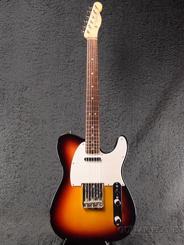 【中古】Fender USA New American Vintage '64 Telecaster -3-Color Sunburst- 2012年製[フェンダー][アメリカンビンテージ][3カラーサンバースト][TL,テレキャスター][Electric Guitar,エレキギター]【used_エレキギター】, ソックスエイド ジャパン:fdabda5c --- tjfa.jp