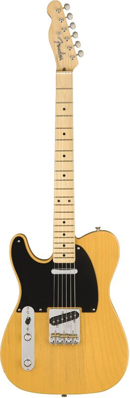 Fender USA American Original 50s Telecaster Left Hand -Butterscotch Blonde- 新品[フェンダー][アメリカンオリジナル][バタースコッチブロンド,黄][[左用,左利き,レフトハンド,レフティー,Left hand]][TL,テレキャスター][Electric Guitar,エレキギター]