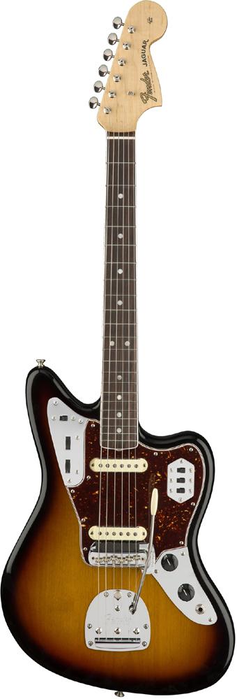Jaguar Guitar,エレキギター] USA American Sunburst- -3-Color 新品[フェンダー][アメリカンオリジナル][サンバースト][ジャガー][Electric Fender Original'60s