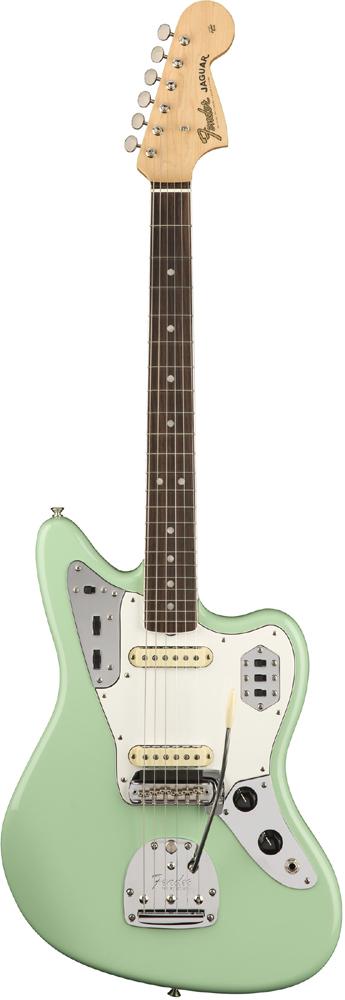 Fender USA American Original'60s Jaguar -Surf Green- 新品[フェンダー][アメリカンオリジナル][サーフグリーン,緑][ジャガー][Electric Guitar,エレキギター]