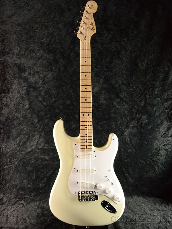 【中古】Fender Custom Shop MBS Custom Eric Clapton Stratocaster -Olympic White- by Mark Kendrick 2008年製[フェンダーカスタムショップ][ストラトキャスター][オリンピックホワイト,白][Electric Guitar,エレキギター]【used_エレキギター】