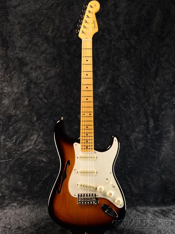 Fender USA Eric Johnson Thinline Stratocaster 2CS 新品[フェンダー][エリックジョンソン][サンバースト][シンラインストラトキャスター][Electric Guitar,エレキギター]