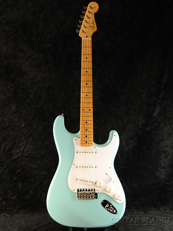 【中古】Fender Japan Exclusive Classic 50s Stratocaster (ST57) -Sonic Blue- 2015年製[フェンダージャパン][ソニックブルー,青][Stratocaster,ストラトキャスター][Electric Guitar,エレキギター][ST57]【used_エレキギター】