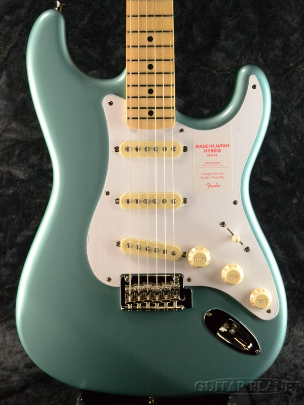 Fender Made In Japan Hybrid 50s Stratocaster Ocean Turquoise Metallic new  article << privilege present! >> [fender Japan] [hybrid] [ocean turquoise