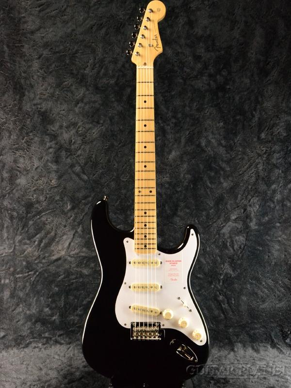 Fender Made In Japan Hybrid 50s Stratocaster Black 新品 《レビューを書いて特典プレゼント!!》[フェンダージャパン][ハイブリッド][ブラック,黒][ストラトキャスター][Electric Guitar,エレキギター]