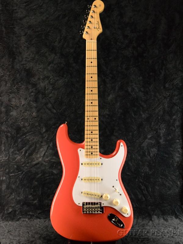 guitar planet fender made in japan hybrid 50s stratocaster fiesta red new article fender japan. Black Bedroom Furniture Sets. Home Design Ideas