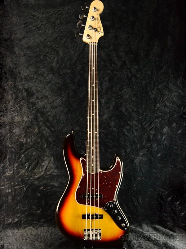 Fender Made In Japan 2018 Limited Collection 60s Jazz Bass 3-Color Sunburst #JD18003743 新品[フェンダージャパン][3CS,サンバースト][JB,ジャズベース][Electric Bass,エレキベース]
