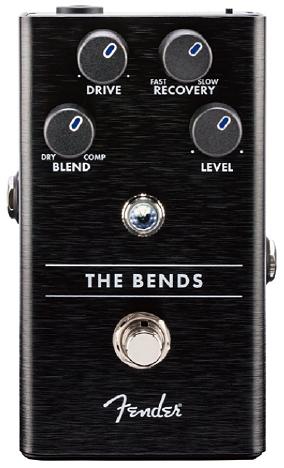 Fender The Bends Compressor Pedal 新品 コンプレッサー[フェンダー][ベンズコンプレッサー][Effector,エフェクター,ペダル]
