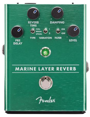 Fender Marine Layer Reverb Pedal 新品 リバーブ[フェンダー][マリンレイヤーリバーブ][Effector,エフェクター,ペダル]