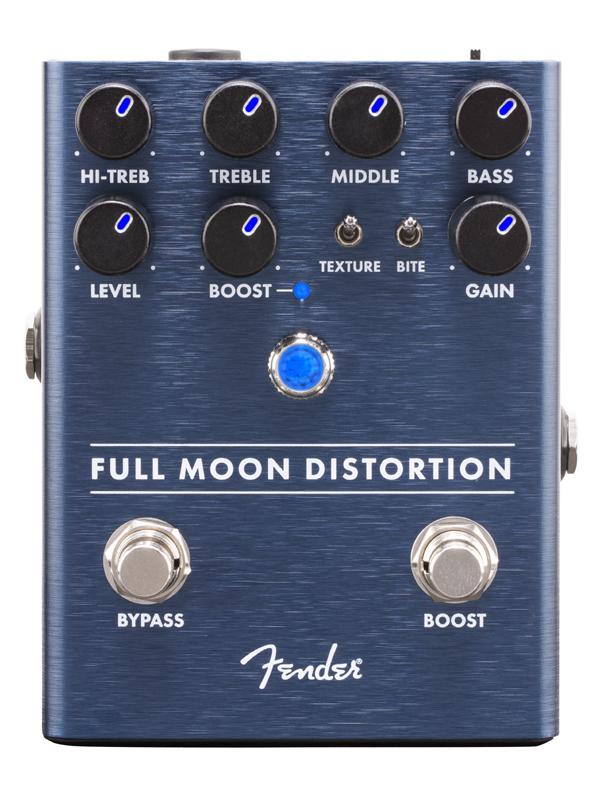 Fender Full Moon Distortion Pedal 新品 ディストーション[フェンダー][フルムーン][歪み][Effector,エフェクター,ペダル]