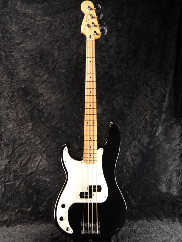 guitar planet fender player precision bass left hand black maple new article fender mexico. Black Bedroom Furniture Sets. Home Design Ideas