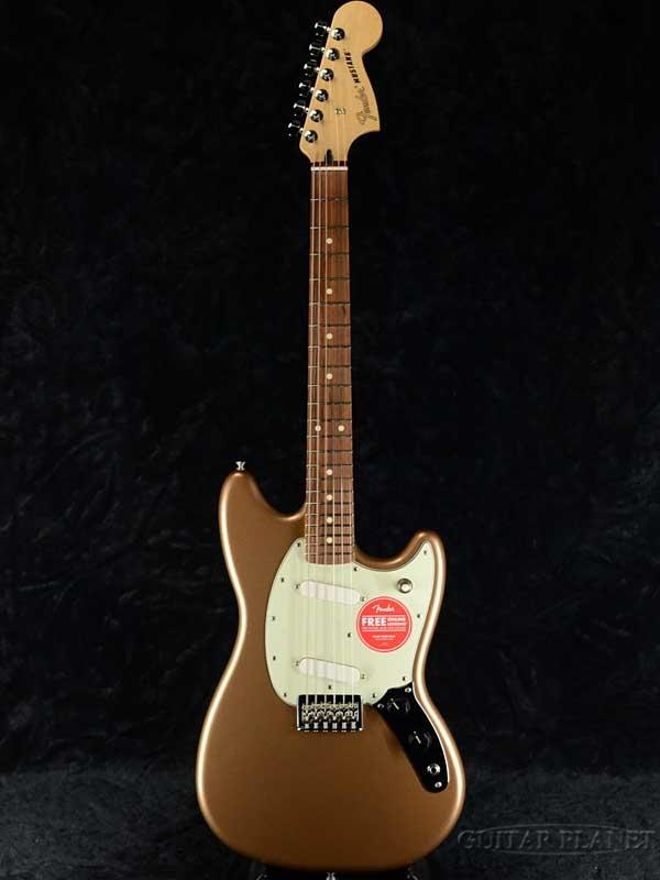 Fender Mexico Player Mustang -Firemist Gold- 新品[フェンダー][プレイヤー][ゴールド,金][ムスタング][Electric Guitar,エレキギター]