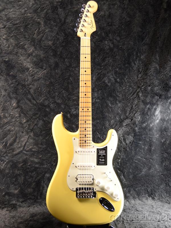 Fender Mexico Player Stratocaster HSS -Buttercream/Maple- 新品[フェンダー][プレイヤー][Yellow,バタークリーム,黄][Stratocaster,ストラトキャスタータイプ][Electric Guitar,エレキギター]