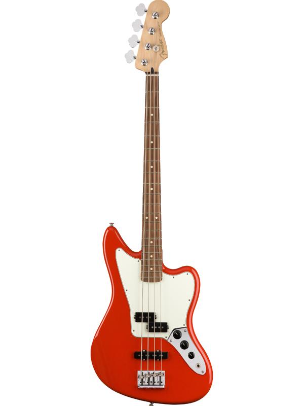 Fender Player Jaguar Bass -Sonic Red / Pau Ferro- 新品 [フェンダーメキシコ][プレイヤー][ジャガーベース][ソニックレッド,赤][パーフェロー][エレキベース,Electric Bass]