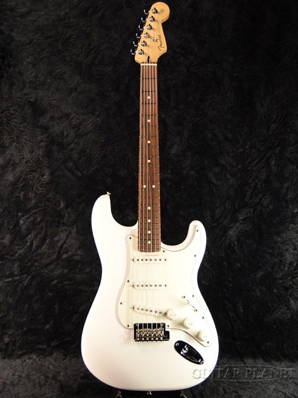 Fender Player Stratocaster PWT/Pau Ferro 新品[フェンダー][プレイヤー][Polar White,ホワイト,白][ストラトキャスター][Electric Guitar,エレキギター]