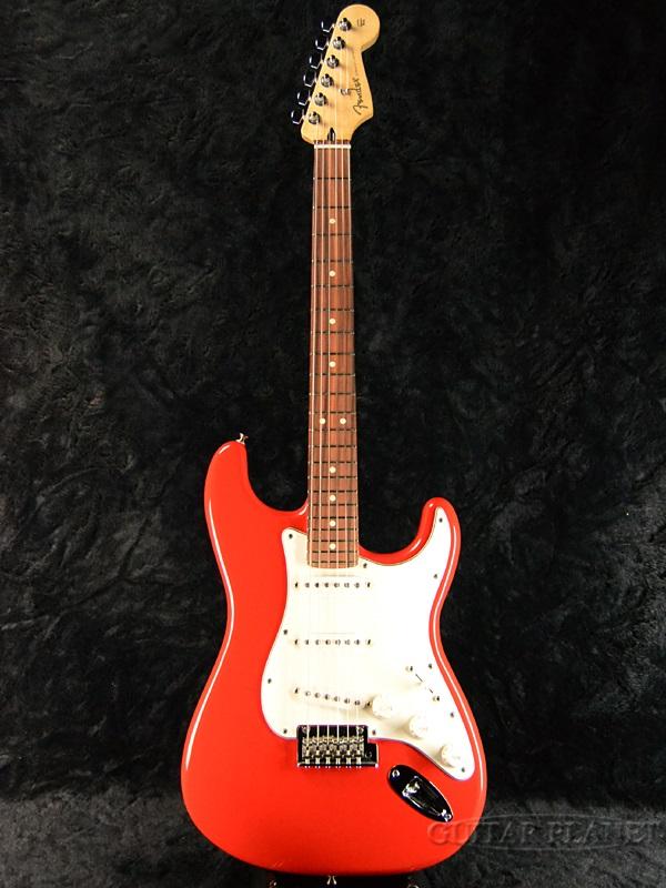 Fender Player Stratocaster SRD/Pau Ferro 新品[フェンダー][プレイヤー][Sonic Red,ソニックレッド,赤][ストラトキャスター][Electric Guitar,エレキギター]