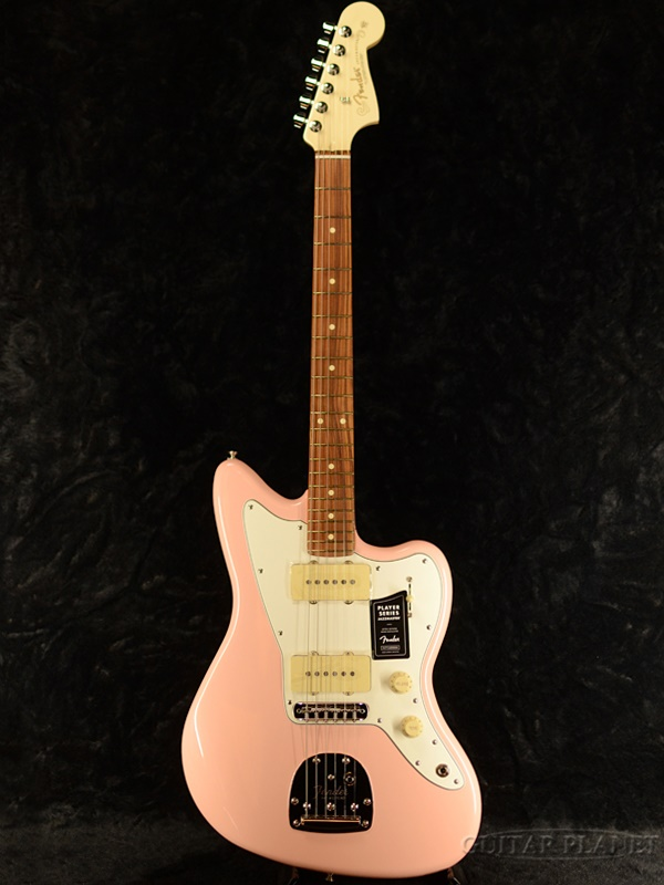 Fender Mexico Limited Player Jazzmaster -Shell Pink with Olympic White Headstock - 新品[フェンダー][プレイヤー][シェルピンク][ジャズマスター][Electric Guitar,エレキギター]