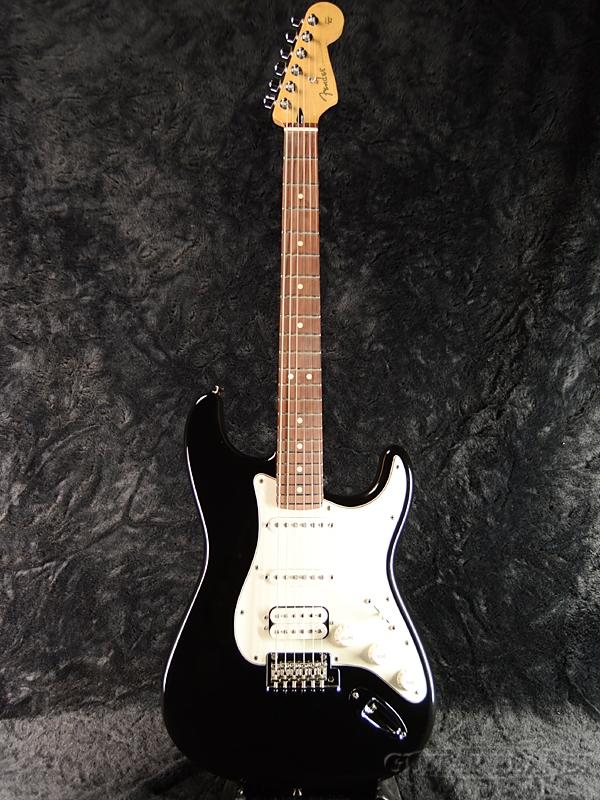Fender Mexico Player Stratocaster HSS -Black- 新品[フェンダー][プレイヤー][ブラック,黒][Stratocaster,ストラトキャスタータイプ][Electric Guitar,エレキギター]