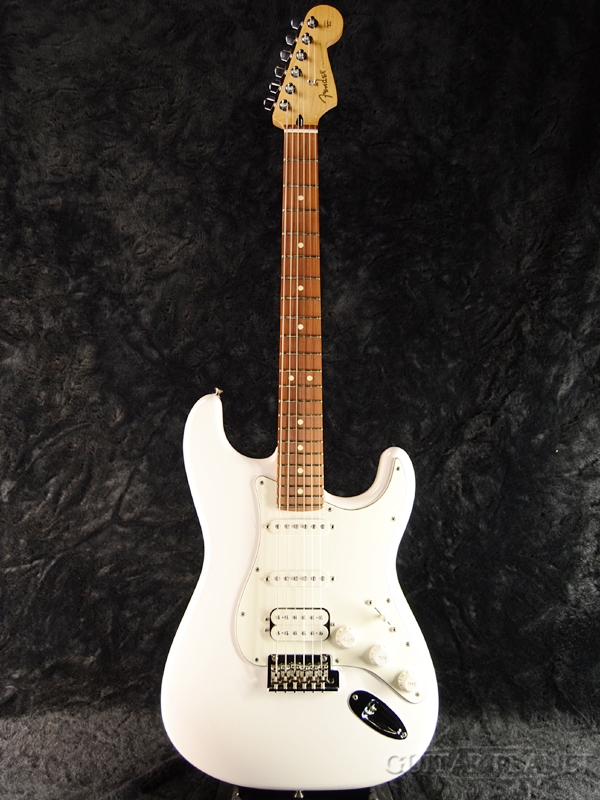 Fender Mexico Player Stratocaster HSS -Polar White- 新品[フェンダー][プレイヤー][ホワイト,白][Stratocaster,ストラトキャスタータイプ][Electric Guitar,エレキギター]