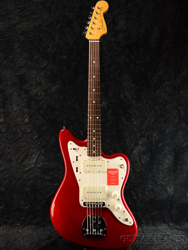 Fender Made In Japan Traditional 60s Jazzmaster Torino Red 新品 《レビューを書いて特典プレゼント!!》[フェンダージャパン][トラディショナル][トリノレッド,赤][ジャズマスター][Electric Guitar,エレキギター]