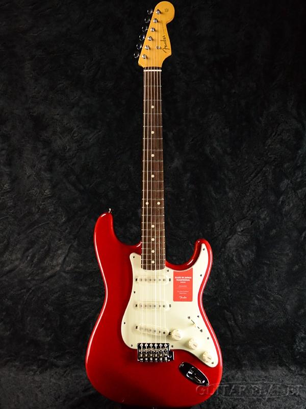 【限定特価!!】Fender Made In Japan Traditional 60s Stratocaster Torino Red 新品 [フェンダージャパン][トラディショナル][トリノレッド,赤][ストラトキャスター][Electric Guitar,エレキギター]