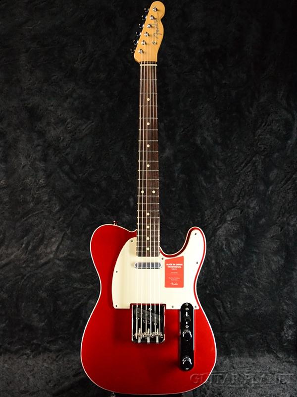 Fender Made In Japan Traditional 60s Telecaster Custom Torino Red 新品 《レビューを書いて特典プレゼント!!》[フェンダージャパン][トラディショナル][トリノレッド,赤][テレキャスター][Electric Guitar,エレキギター]
