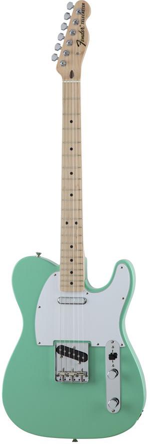 Fender Made In Japan Traditional 70s Telecaster ASH Surf Green 新品 《レビューを書いて特典プレゼント!!》[フェンダージャパン][トラディショナル][サーフグリーン,緑][テレキャスター][Electric Guitar,エレキギター]