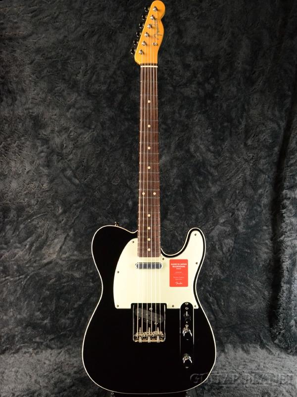 Fender Made In Japan Traditional 60s Telecaster Custom Black 新品 《レビューを書いて特典プレゼント!!》[フェンダージャパン][トラディショナル][ブラック,黒][テレキャスター][Electric Guitar,エレキギター]