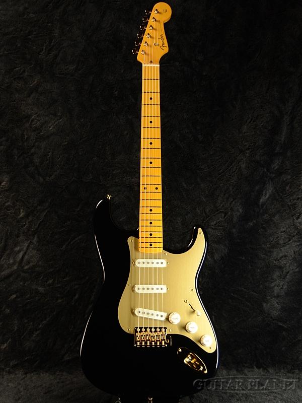 Fender Made in Japan Traditional 50s Stratocaster Anodized -Black- 新品《レビューを書いて特典プレゼント!!》[フェンダージャパン][トラディショナル][ブラック,黒][ストラトキャスター][Electric Guitar,エレキギター]