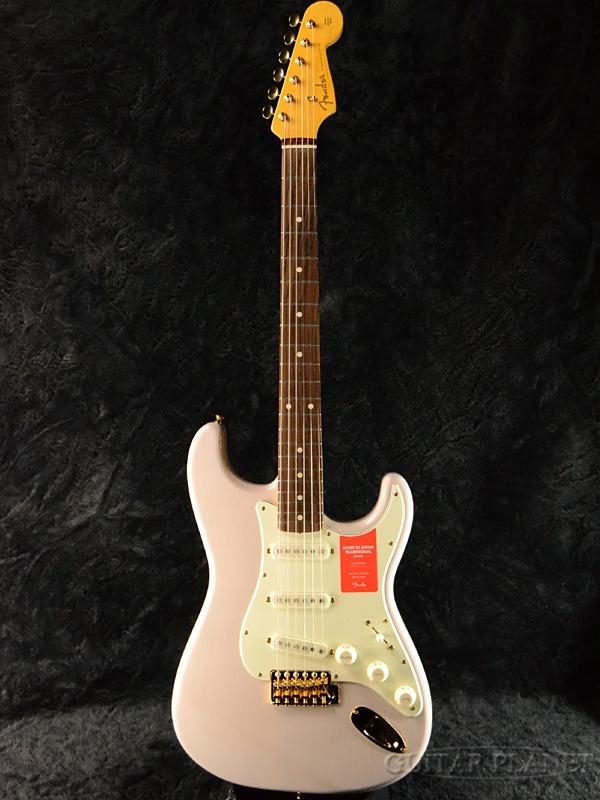 Fender Made In Japan Traditional 60s Stratocaster with Gold Hardware US Blonde 新品 《レビューを書いて特典プレゼント!!》[フェンダージャパン][トラディショナル][USブロンド,白][ストラトキャスター][Electric Guitar,エレキギター]