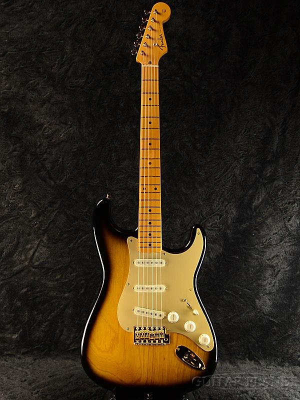 Fender Made in Japan Traditional 50s Stratocaster Anodized -2 Color Sunburst- 新品《レビューを書いて特典プレゼント!!》[フェンダージャパン][トラディショナル][サンバースト,木目][ストラトキャスター][Electric Guitar,エレキギター]