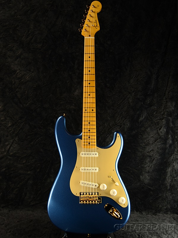 Fender Made in Japan Traditional 50s Stratocaster Anodized -Lake Placid Blue- 新品《レビューを書いて特典プレゼント!!》[フェンダージャパン][トラディショナル][ブルー,青][ストラトキャスター][Electric Guitar,エレキギター]