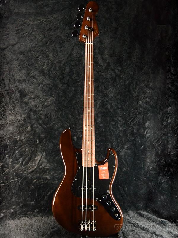 Fender Made In Japan Traditional 60s Jazz Bass Walnut 新品《レビューを書いて特典プレゼント!!》[フェンダージャパン][トラディショナル][ウォルナット,茶][JB,ジャズベース][Electric Bass,エレキベース]