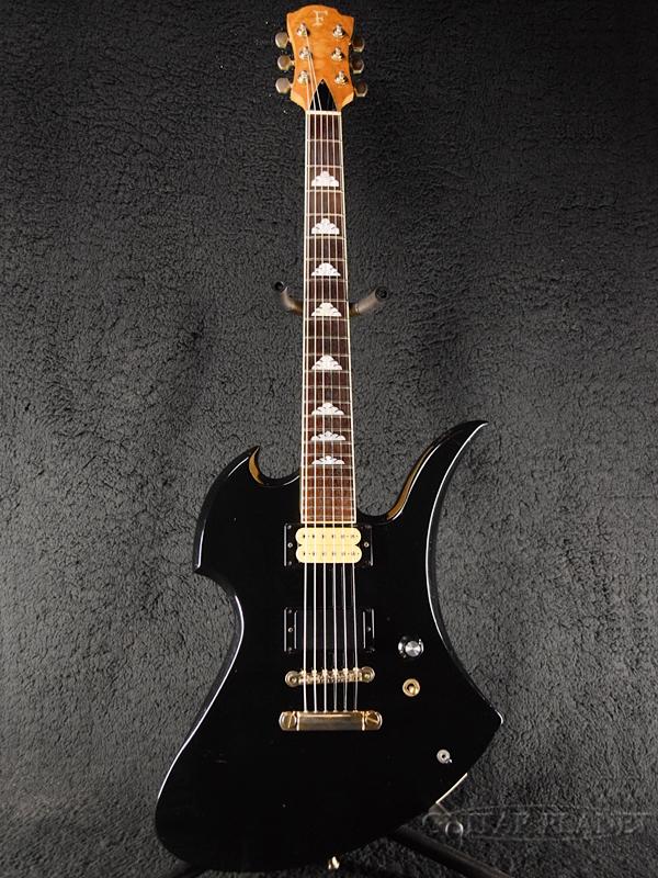 【中古】Fernandes MG-80X -BLK (Black)- 1990-2000年代製[フェルナンデス][X JAPAN,hide][ブラック,黒][Electric Guitar,エレキギター][MG80X]【used_エレキギター】