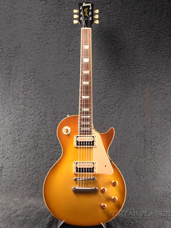 【中古】Burny KLG-75 (RLG-70 '59) -COS (Cherry Old Sunburst)- 1990年代製[バーニー][Fernandes,フェルナンデス][レモンドロップ][Les Paul,レスポールタイプ][Electric Guitar,エレキギター][RLG75]【used_エレキギター】